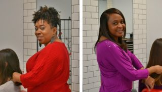 Ebony Images owners Michele and Lucretia