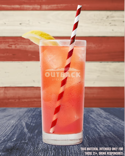 Outback Steakhouse Strawberry Lemonate