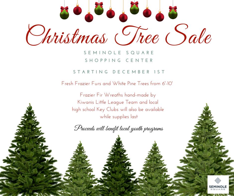Christmas Tree Sale Starting Dec 1st