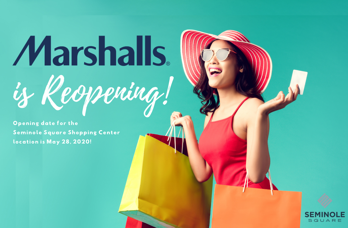 Marshalls is Reopening!